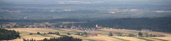 Blick vom Jahrtausendlebensturm Richtung Waldenstein