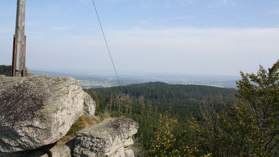 Blick nach Osten vom Nebelstein